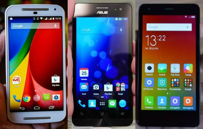 Moto G x Zenfone 5 x Redmi 2
